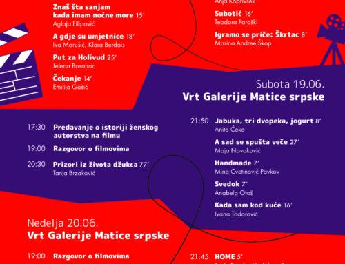 Festival filmskih autorki od 18. do 20. juna